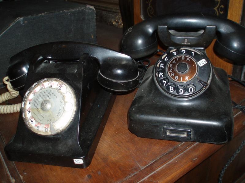 Old telephones – Gorgona Antique Shop
